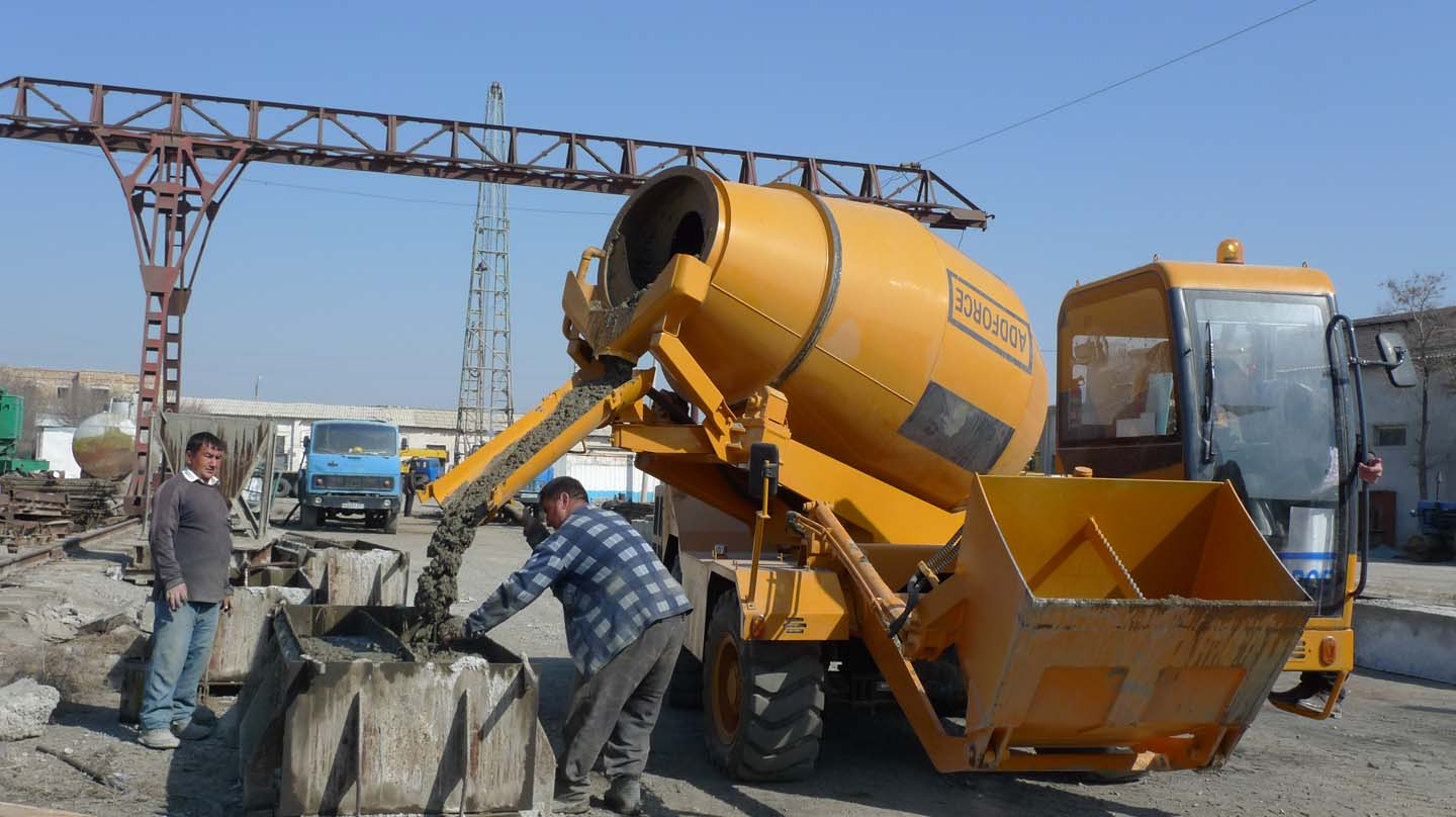 Self Loading Concrete Mixer No 1 In China Addforce